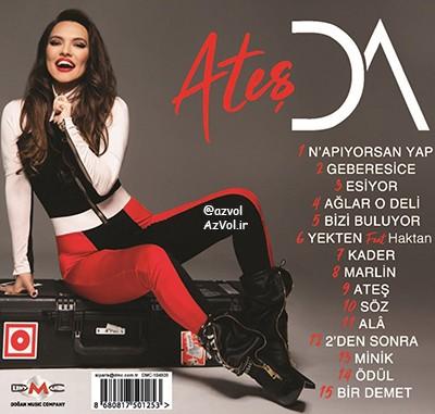 دانلود آلبوم ترکی جدید Demet Akalin به نام Ates